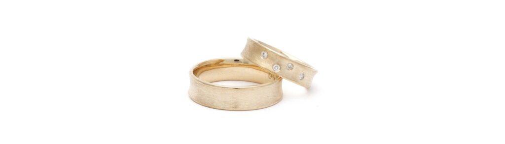 Trouwringen recyclet-met-emotie oud goud en diamanten