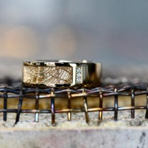 ring goud diamant vingerafdrukken