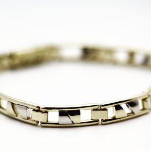 maatwerk armband oud goud goudsmid