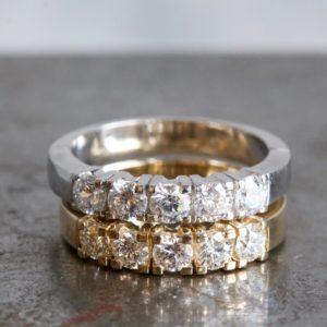maatwerk ring diamant goud goudsmid