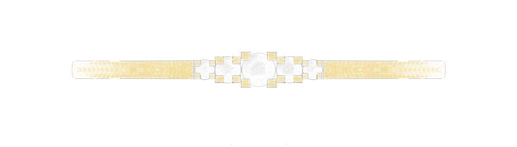 Ontwerp armband diamant