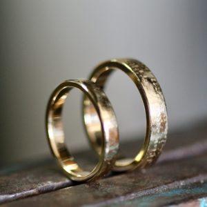trouwringen goudsmid Best Eindhoven bicolor oud goud nieuw goud recycled diamant Son Breugel Sint Oedenrode Oirschot