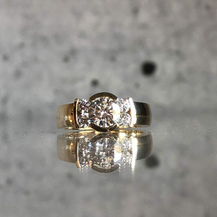 maatwerk diamant Lonneke Goudsmid