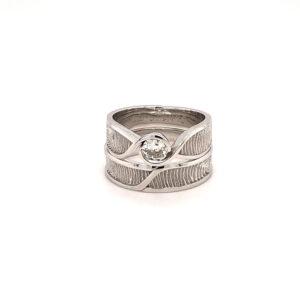 vingerafdruk ringen diamant